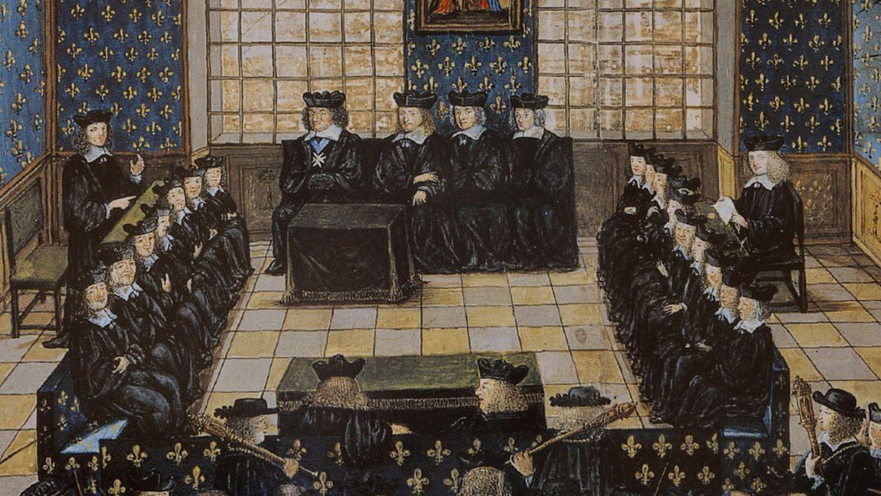 Procès de Fouquet, 16 Décembre 1661 au Palais de Justice de Paris