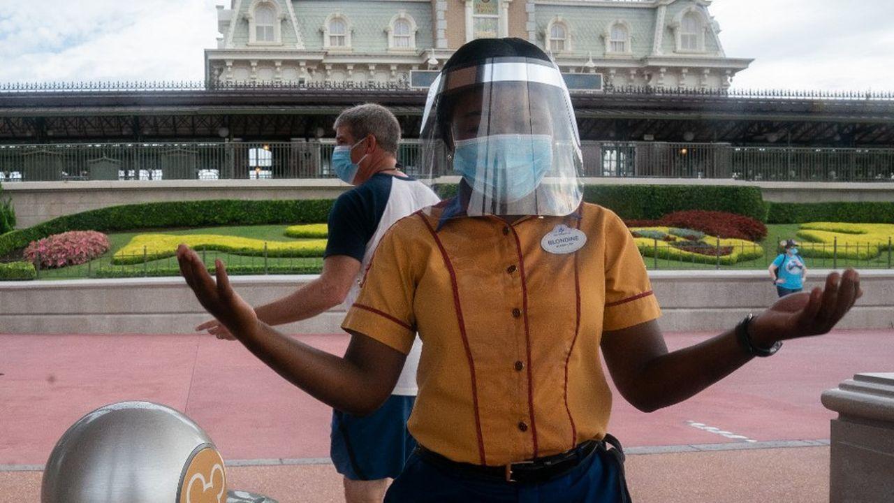 L'activité des parcs d'attractions de Disney a été durement touchée par l'épidémie de coronavirus.