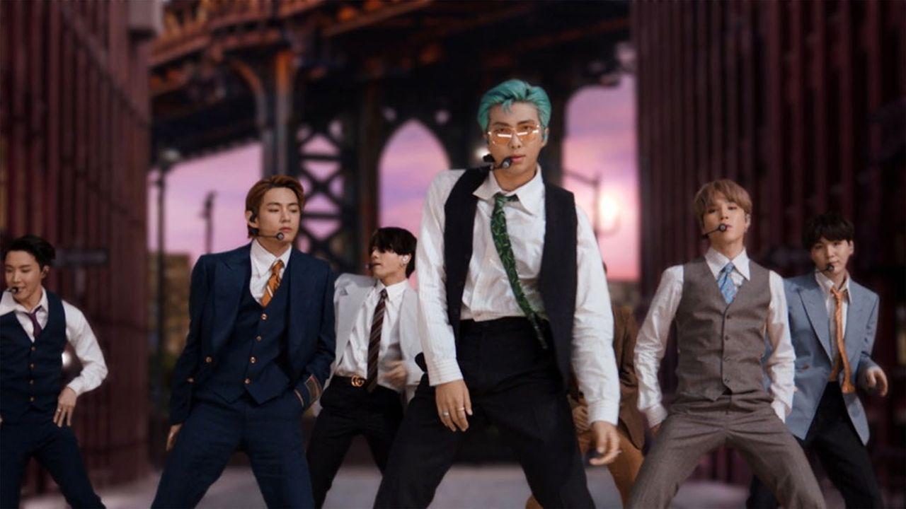 BTSest devenu en août le premier groupe sud-coréen à arriver en tête des hits aux Etats-Unis avec son nouveau tube «Dynamite».