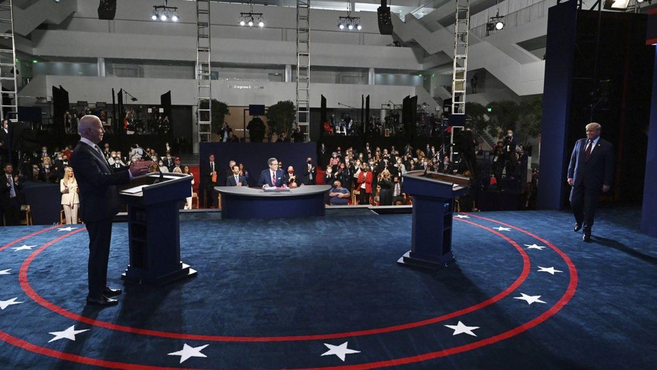Le débat entre les candidats à la présidentielle a tourné au pugilat cette nuit.