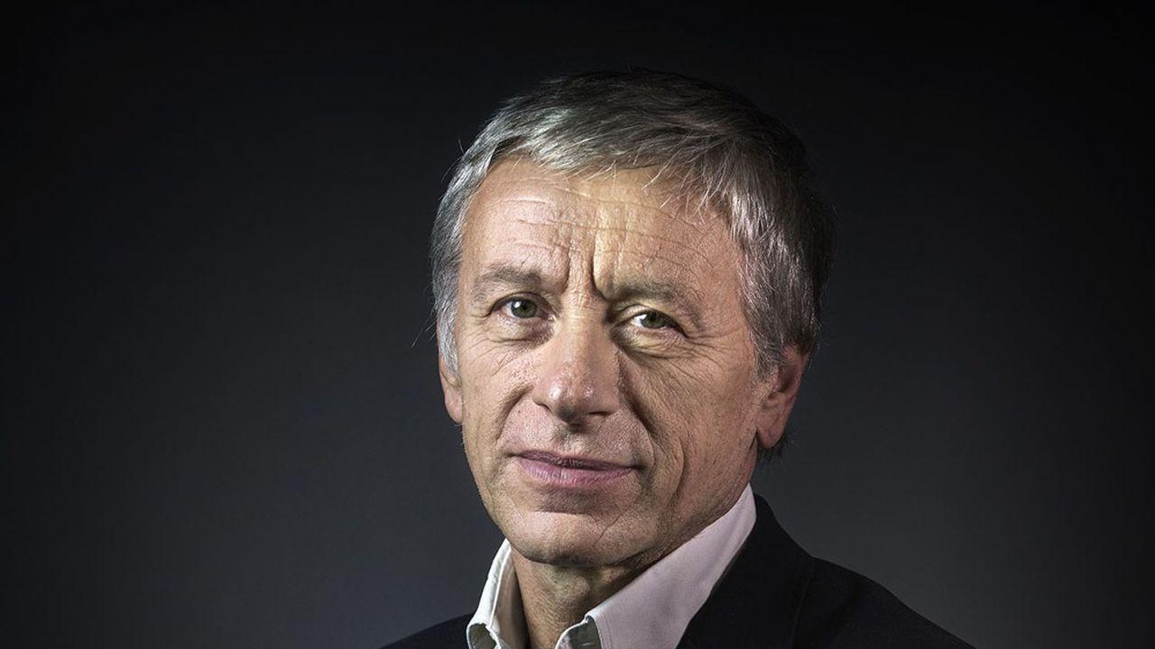 L'écrivain et diplomate Jean-Christophe Rufin va devenir président de la Fondation d'entreprise Sanofi Espoir. Il succède à Xavier Darcos. (Photo de JOEL SAGET)