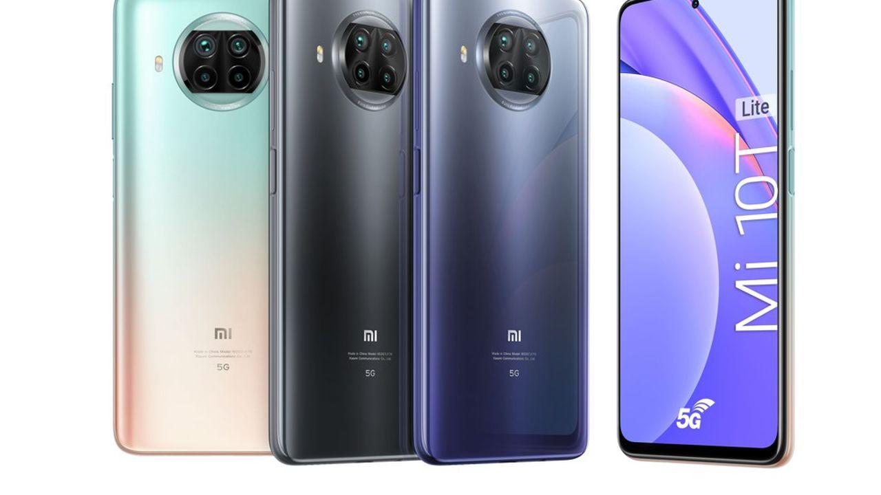 Le Mi 10T Lite lancé ce mercredi par Xiaomi est l'un des smartphones 5G les moins chers d'Europe, à 299euros.