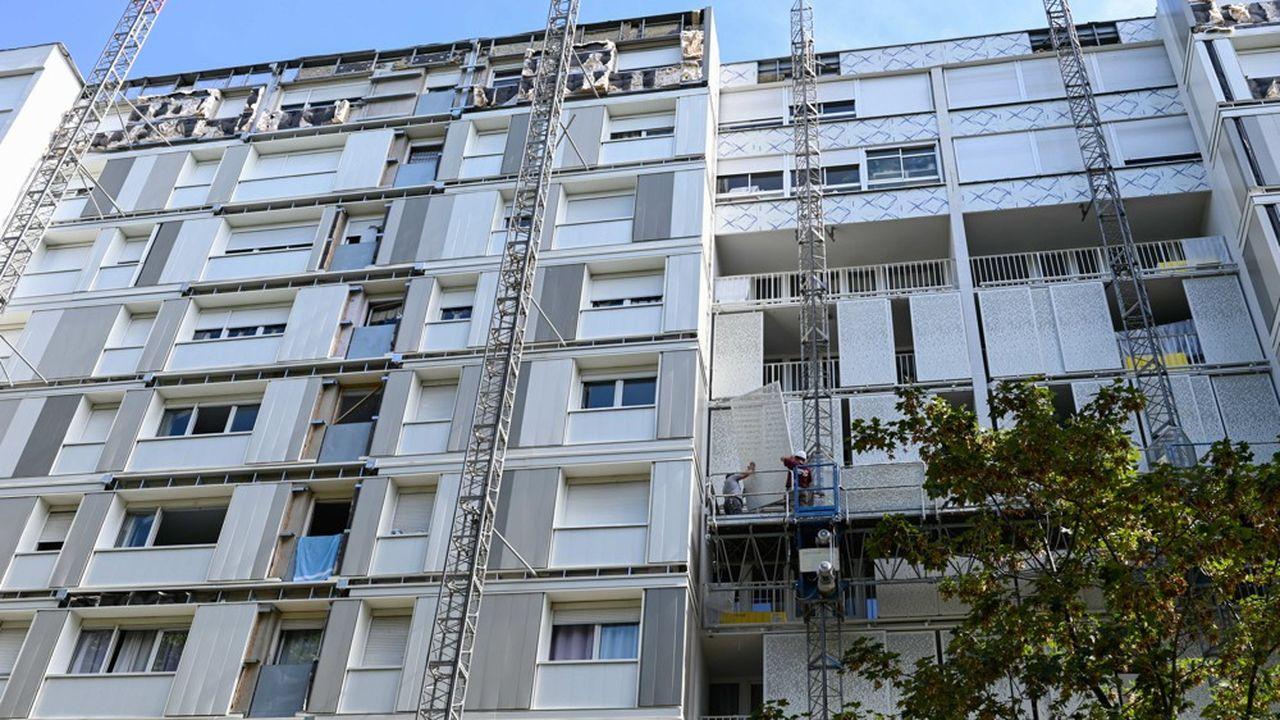 Un programme de rénovation de HLM en partie porté par Action Logement.