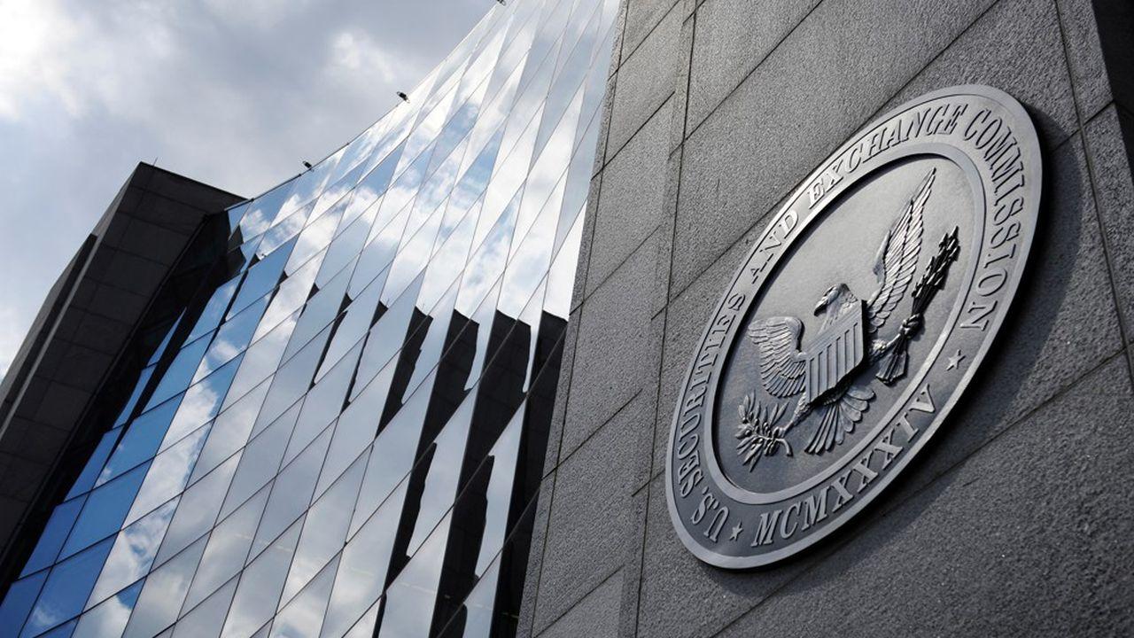 Le siège de l'U.S. Securities and Exchange Commission (SEC) à Washington