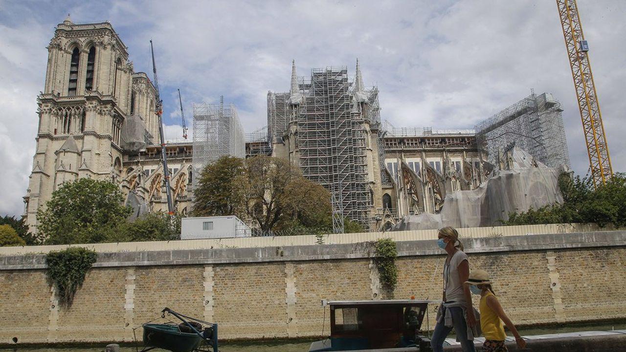 Le chantier casse-tête de Notre Dame de Paris
