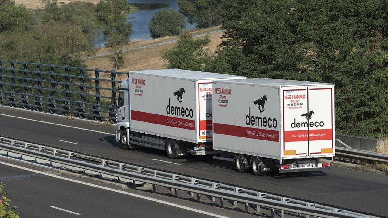 Chez Demeco, les déménagés pourront bientôt géolocaliser les camions qui transportent leurs biens.