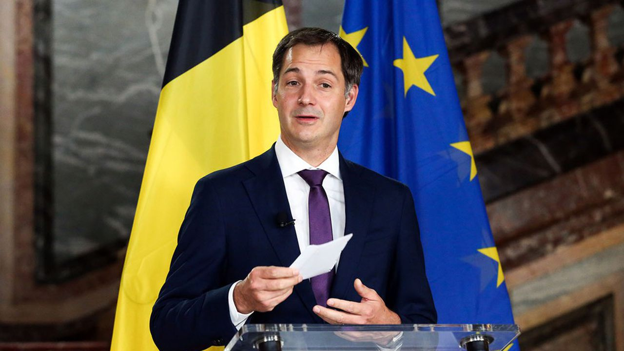 Belgique Alexander De Croo Va Prendre La Tete Du Futur Gouvernement Les Echos