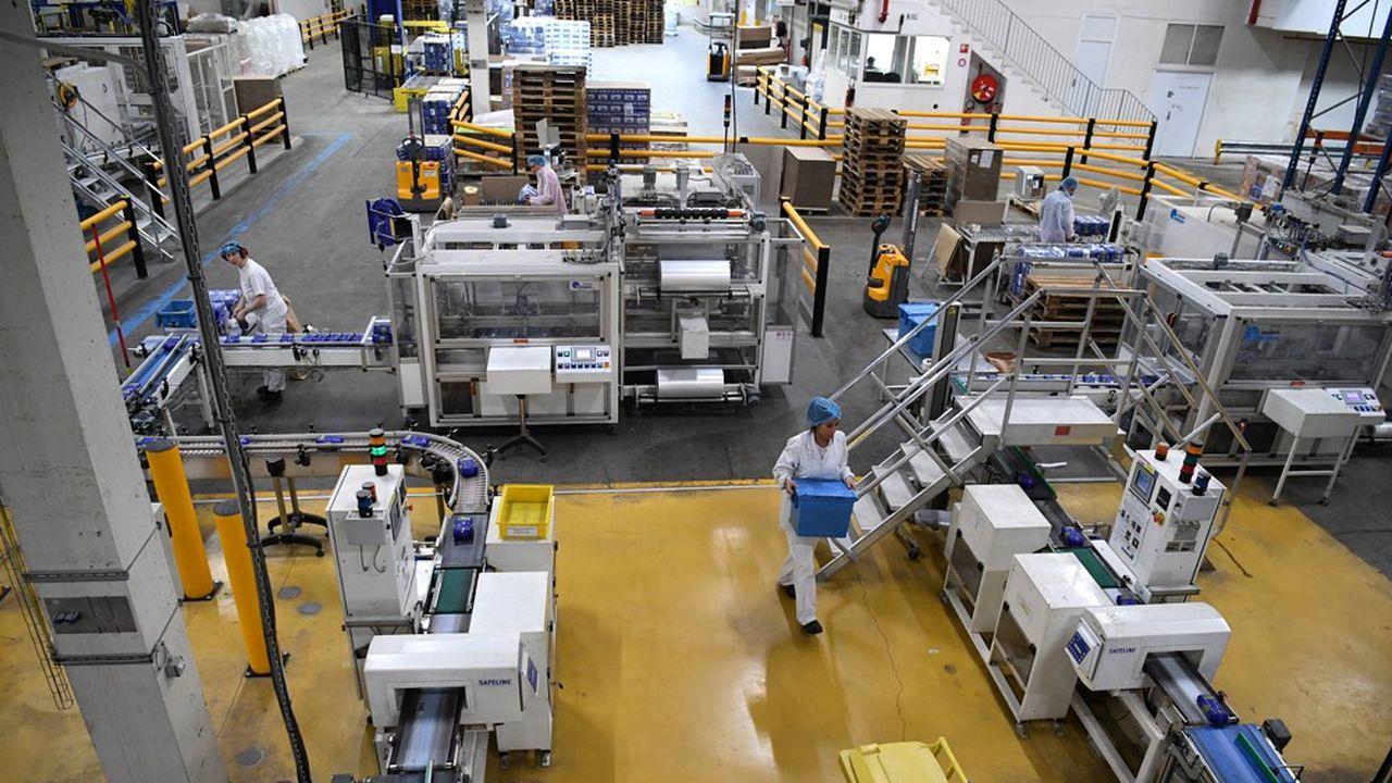 Une usine à Chambéry.