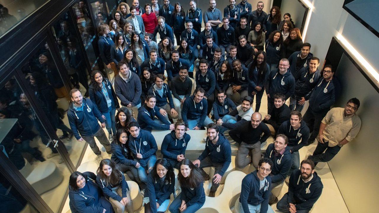 Avec 400personnes, Sendinblue veut multiplier par quatre son chiffre d'affaires et le nombre de ses employés d'ici à2025.