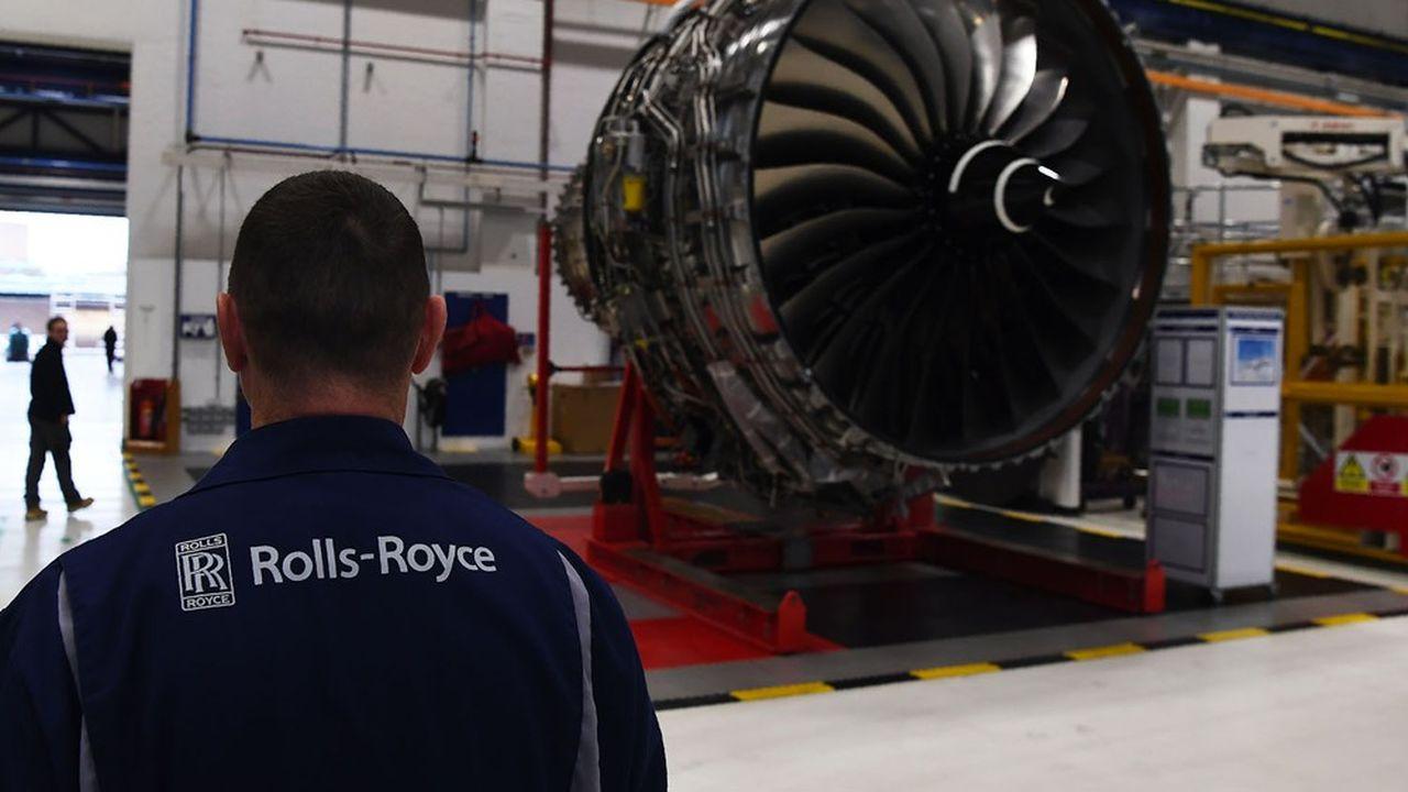 Le motoriste Rolls-Royce, qui fabrique notamment les moteurs des Airbus A350, a annoncé une perte nette de 5,4milliards de livres au premier semestre.