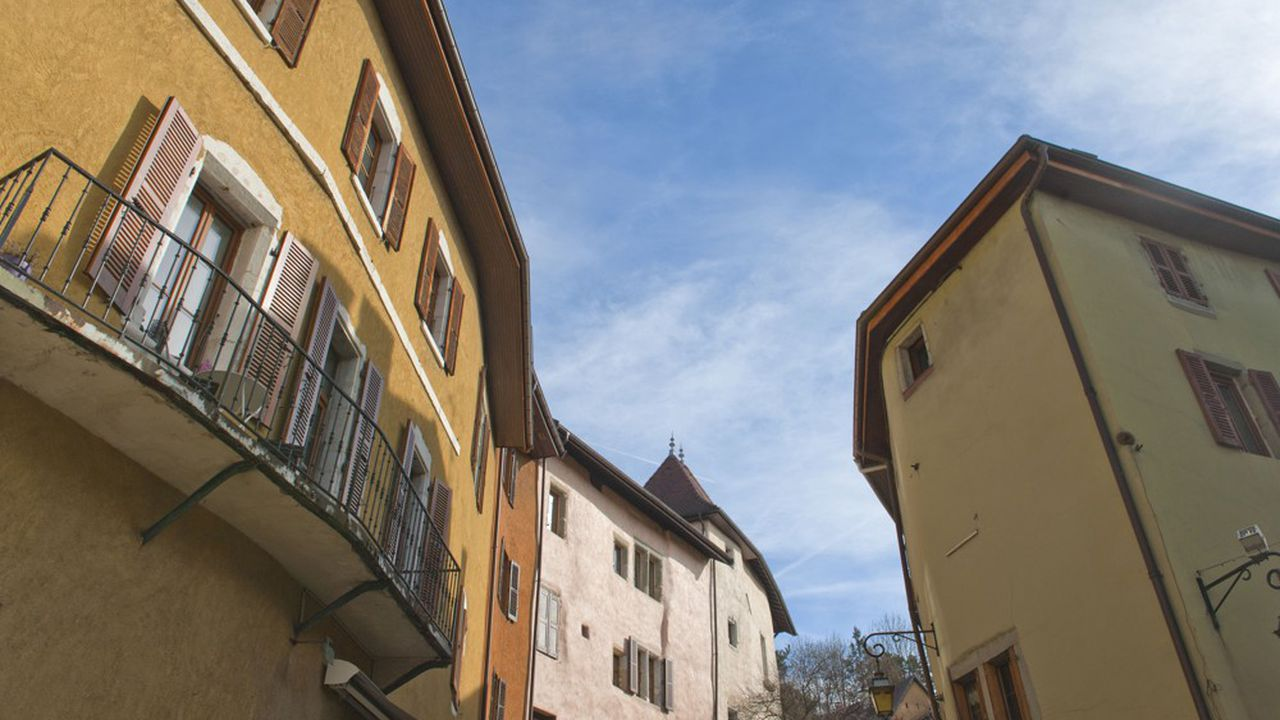 Annecy vieille ville, passage Nemours.