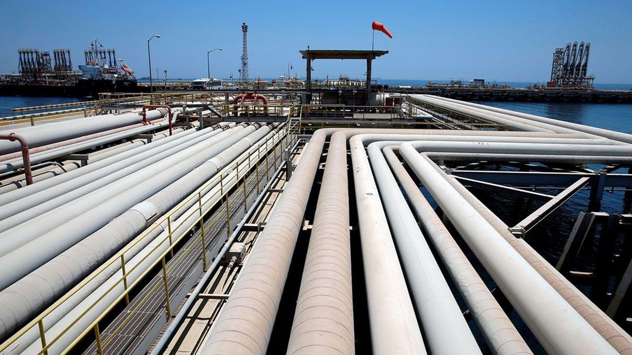 Une raffinerie de Saudi Aramco.