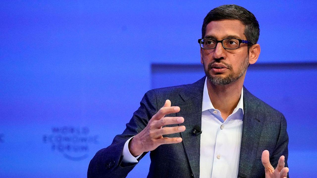 Sundar Pichai, le DG d'Alphabet et Google.