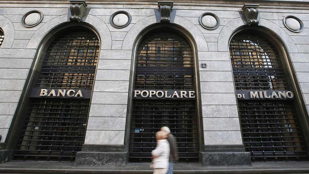 Banco BPM est issu du rapprochement, en 2017, de Banco Popolare et de Banca Popolare di Milano.