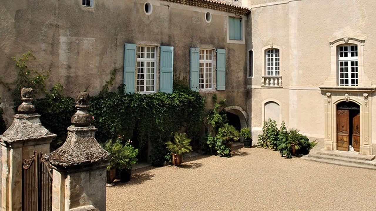 Château à vendre près d'Anduze (Gard).
