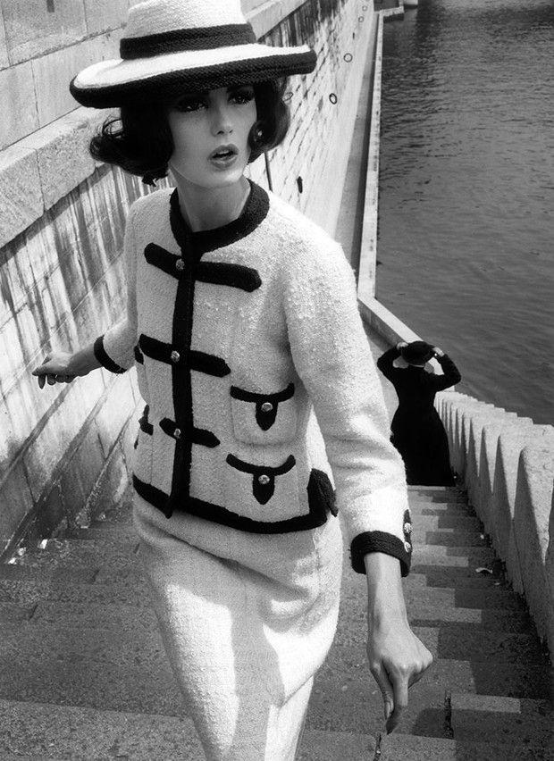 La mannequin Dorothy photographiée par William Klein pour «Vogue» en octobre 1960.
