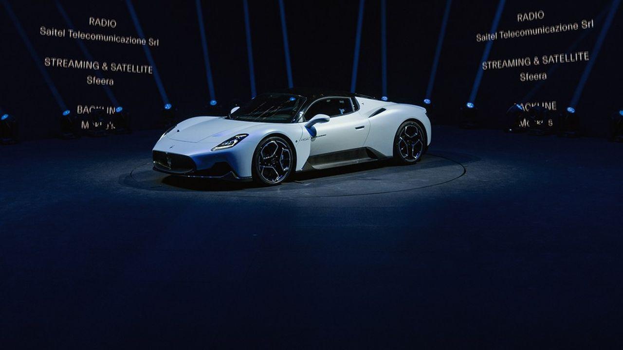 A Modène, le 9 Septembre 2020, Maserati présentait son nouveau modèle de bolide : la MC20.