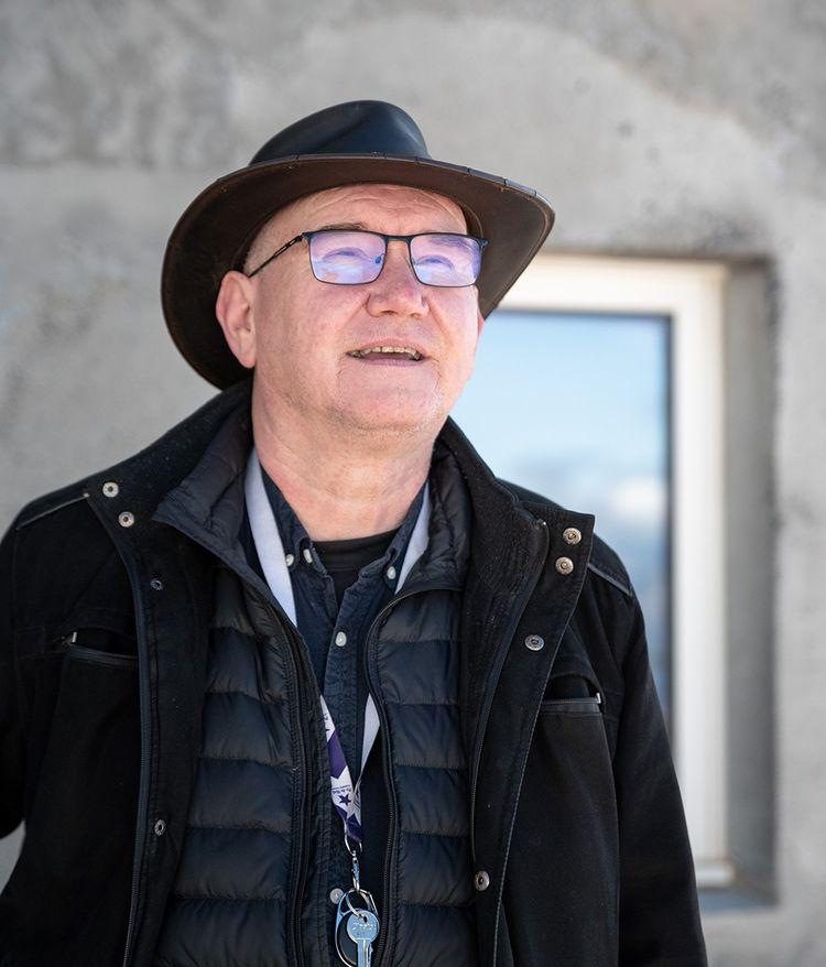 Portrait de Philippe Nowak, animateur nocturne au Pic du Midi, membre de l'association la Ferme des Etoiles.