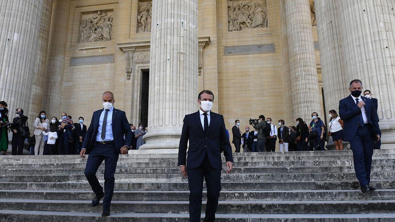 Après son discours sur la République au Panthéon, Emmanuel Macron présentera ce vendredi aux Mureaux les dispositions de son projet de loi pour lutter contre les séparatismes.