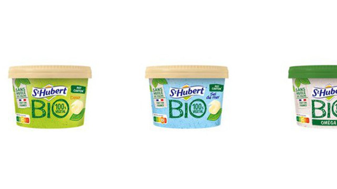 Pour l'heure, ce nouveau conditionnement emballe trois produits de la gamme bio et pourrait se décliner à terme sur l'ensemble de la marque St Hubert.