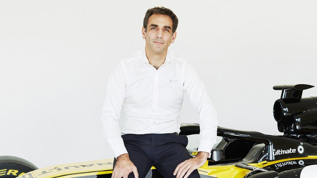 Cyril Abiteboul, directeur général de Renault Sport Racing, photographié fin septembre sur le site de Viry-Chatillon.