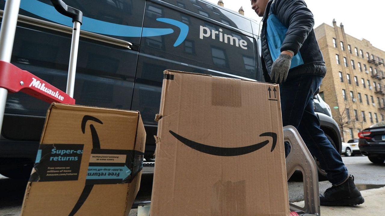 Amazon a continué à tourner à plein régime pendant la crise du Covid-19.