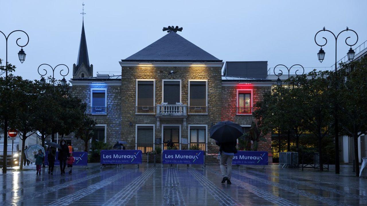 La mairie des Mureaux, ce vendredi 2octobre.