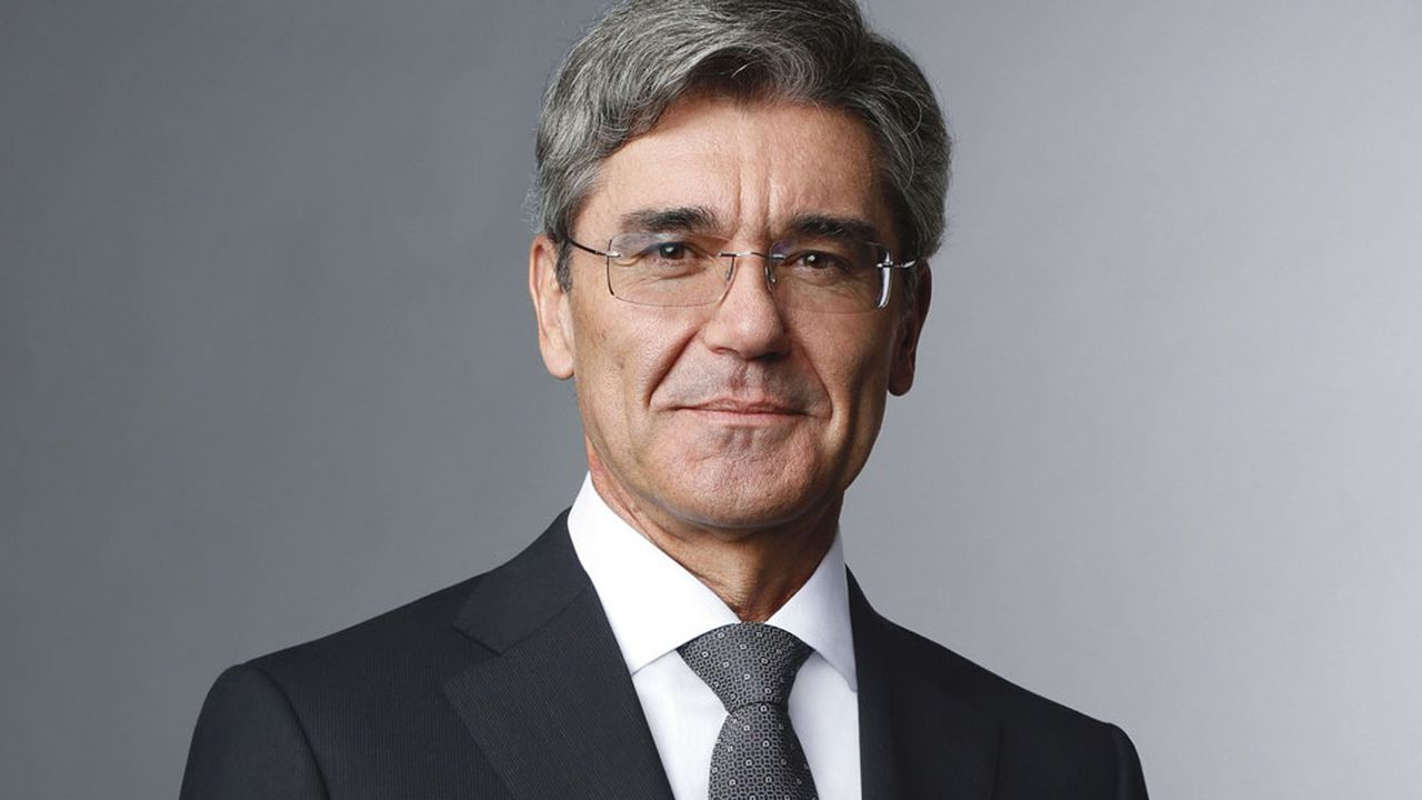 Joe Kaeser, grand patron de Siemens, est aux premières loges de l'évolution de l'industrie européenne.