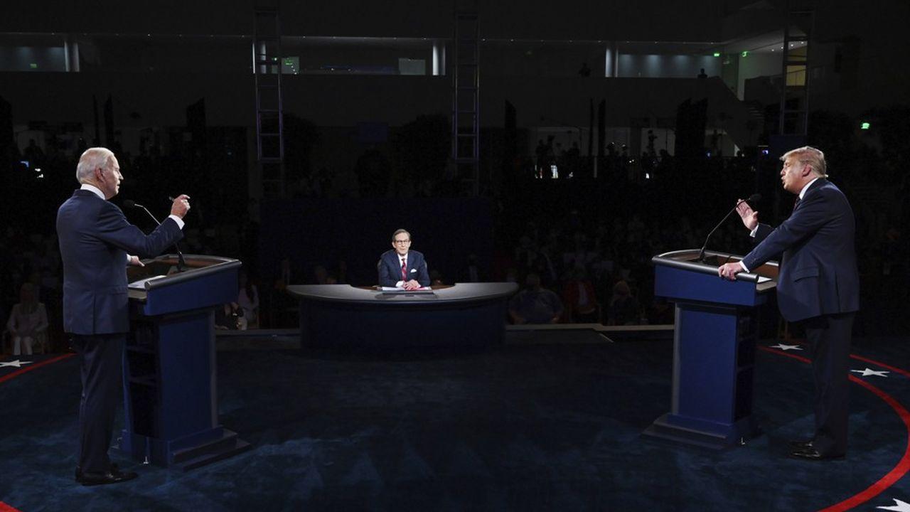 Donald Trump et Joe Biden ont croisé le fer cette semaine lors du débat télévisé..