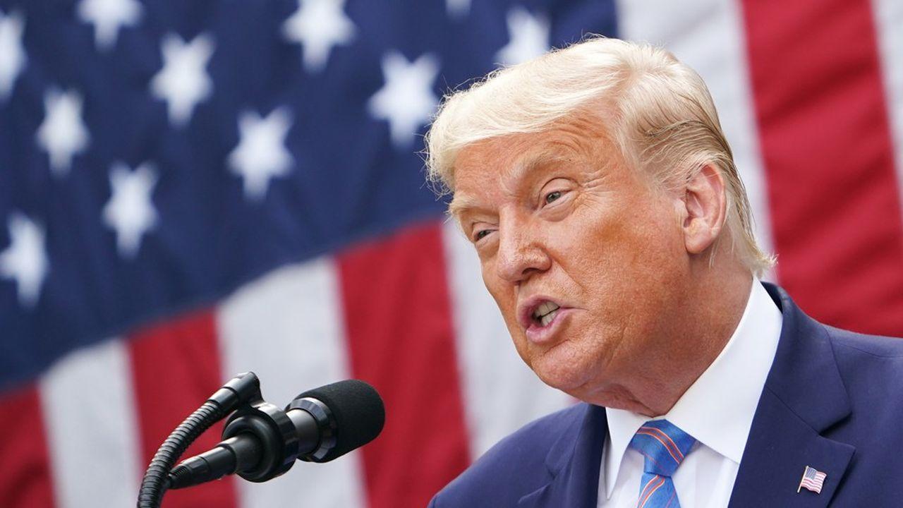 Donald Trump est à l'isolement à la Maison Blanche depuis sa contamination au Covid-19.