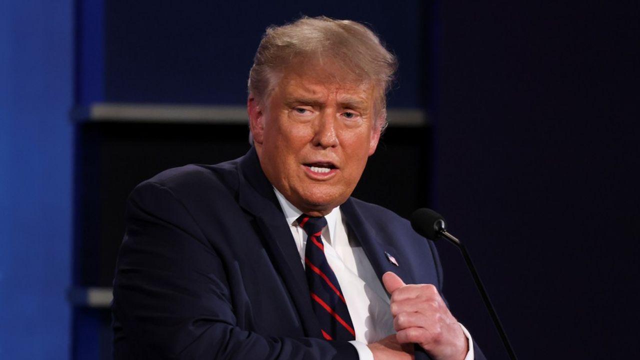 «J'ai un masque, je le porte quand je pense que c'est nécessaire», a assuré Donald Trump mardi lors du débat télévisé, moquant la taille de celui de son rival Joe Biden.