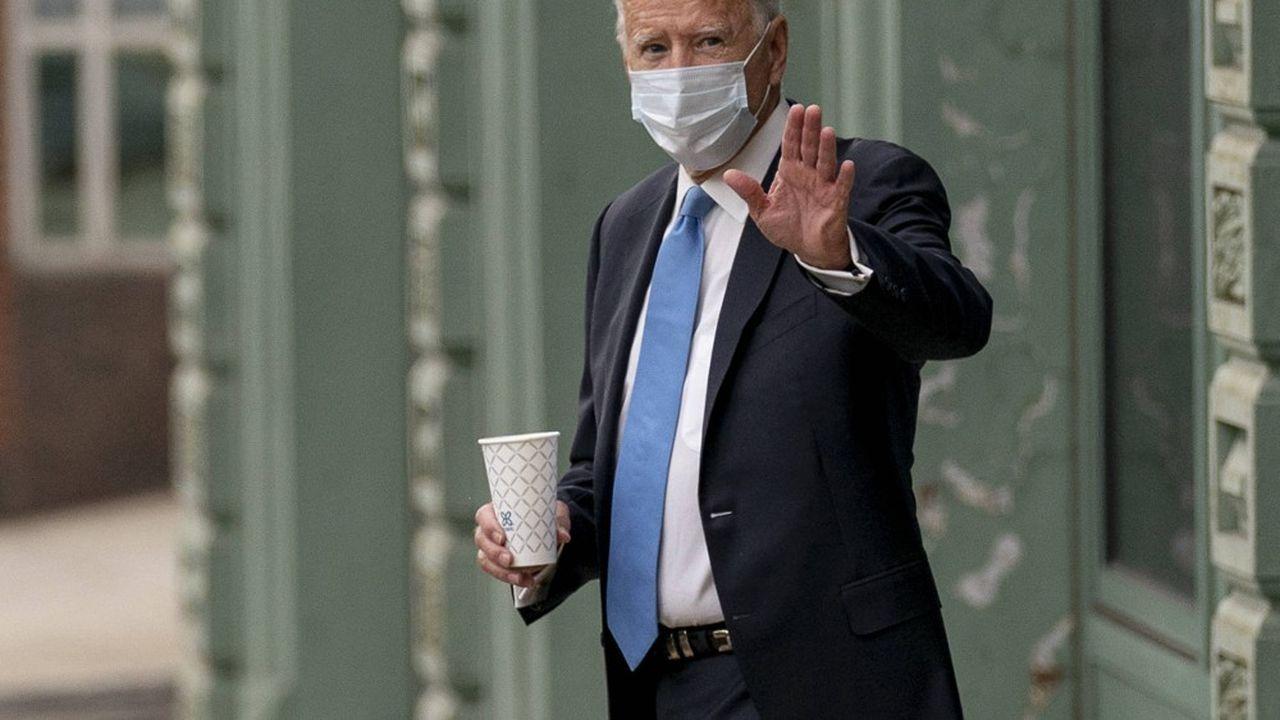 Le candidat démocrate à la Maison Blanche Joe Biden a annoncé avoir été testé négatif au Covid-19.