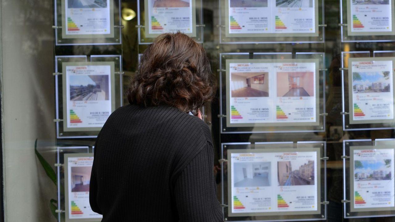 Immobilier: les investissements locatifs pénalisés par le resserrement des conditions de crédit