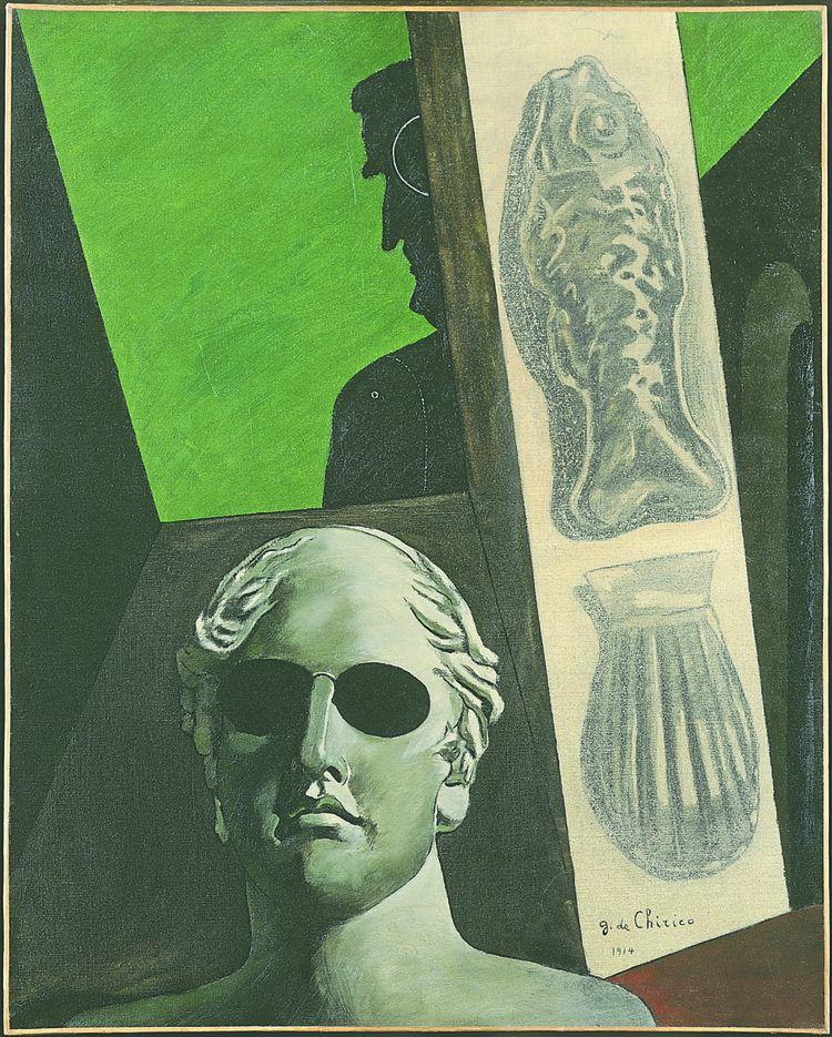 «Portrait (prémonitoire) de Guillaume Apollinaire», 1914.