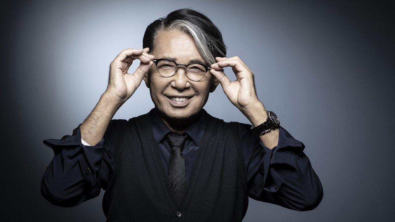 Kenzo Takada est considéré comme le premier créateur japonais à s'être imposé à Paris.