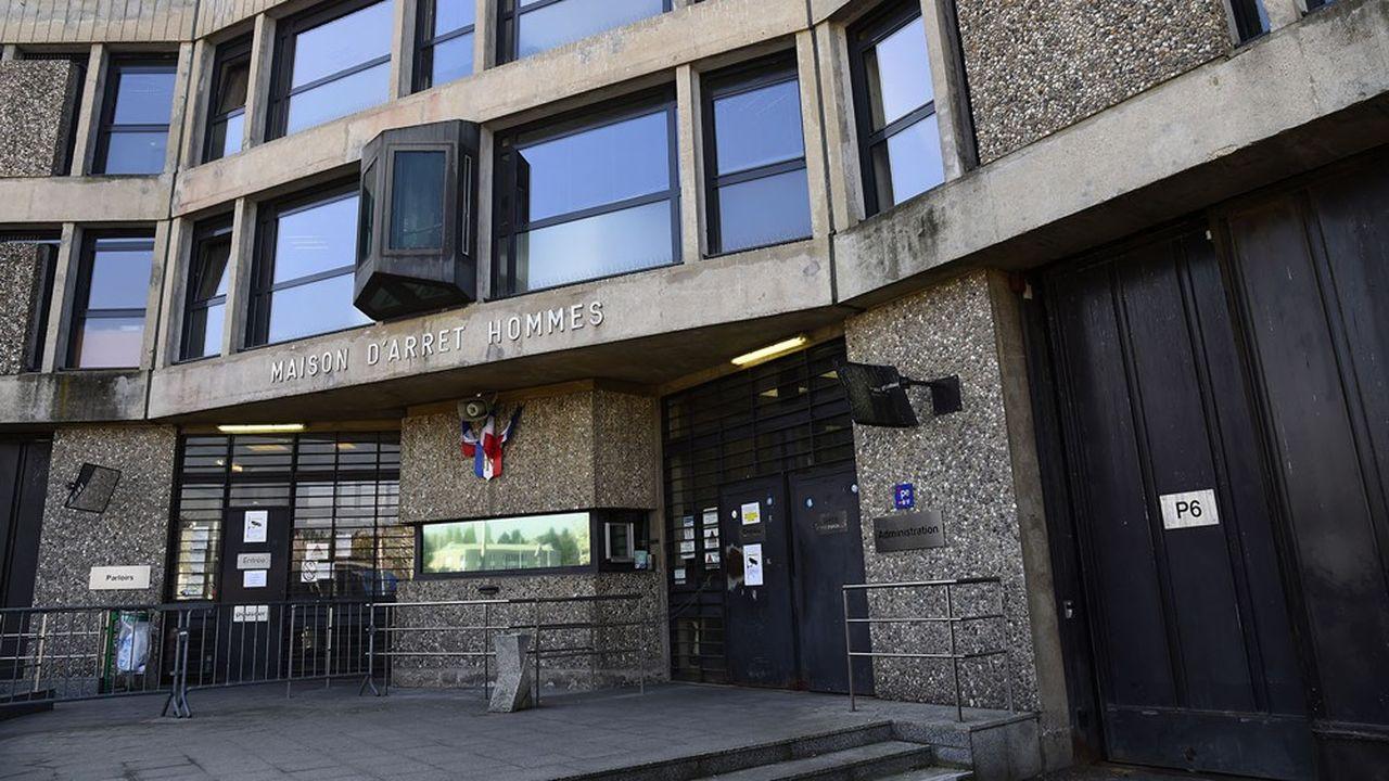 Entrée de la prison de Fleury-Mérogis.