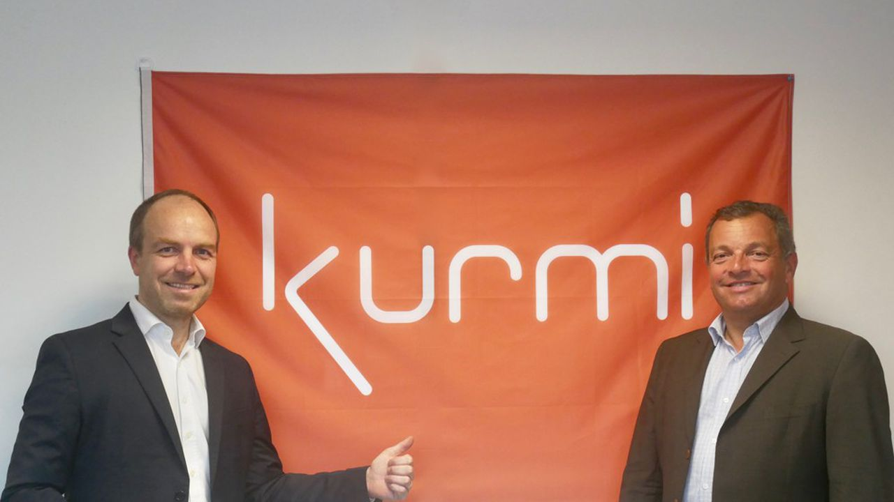 Hugues Meili, P-DG de Niji et président du comité de surveillance de Kurmi Software et Thibaut Felgères, président de Kurmi Software