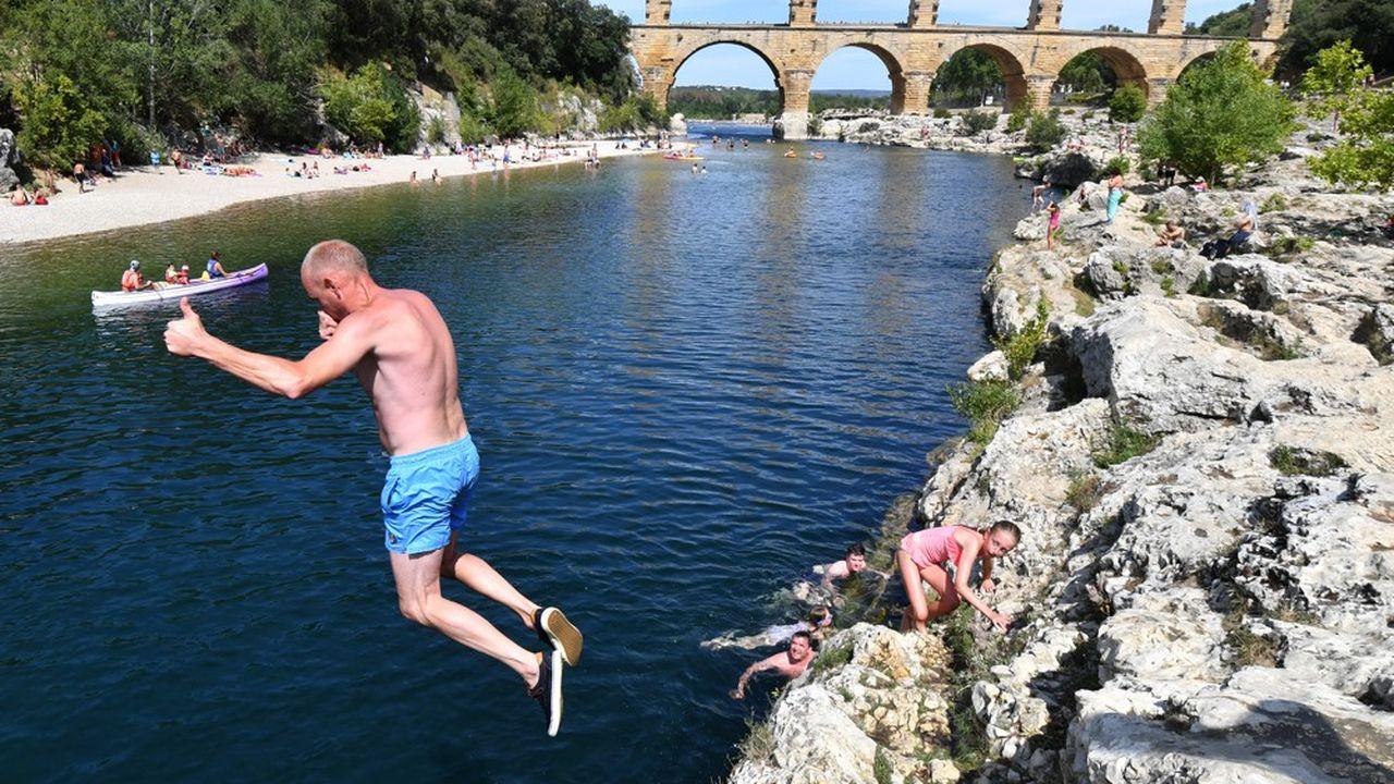 Le Pont du Gard figure parmi « les meilleurs endroits au monde pour la baignade ».
