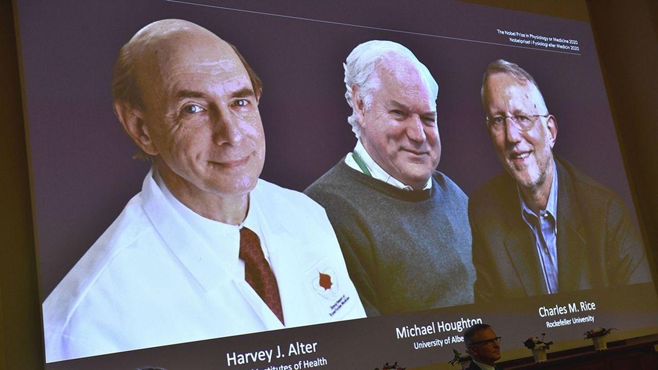 Harvey J. Alter, Michael Houghton et Charles M. Rice