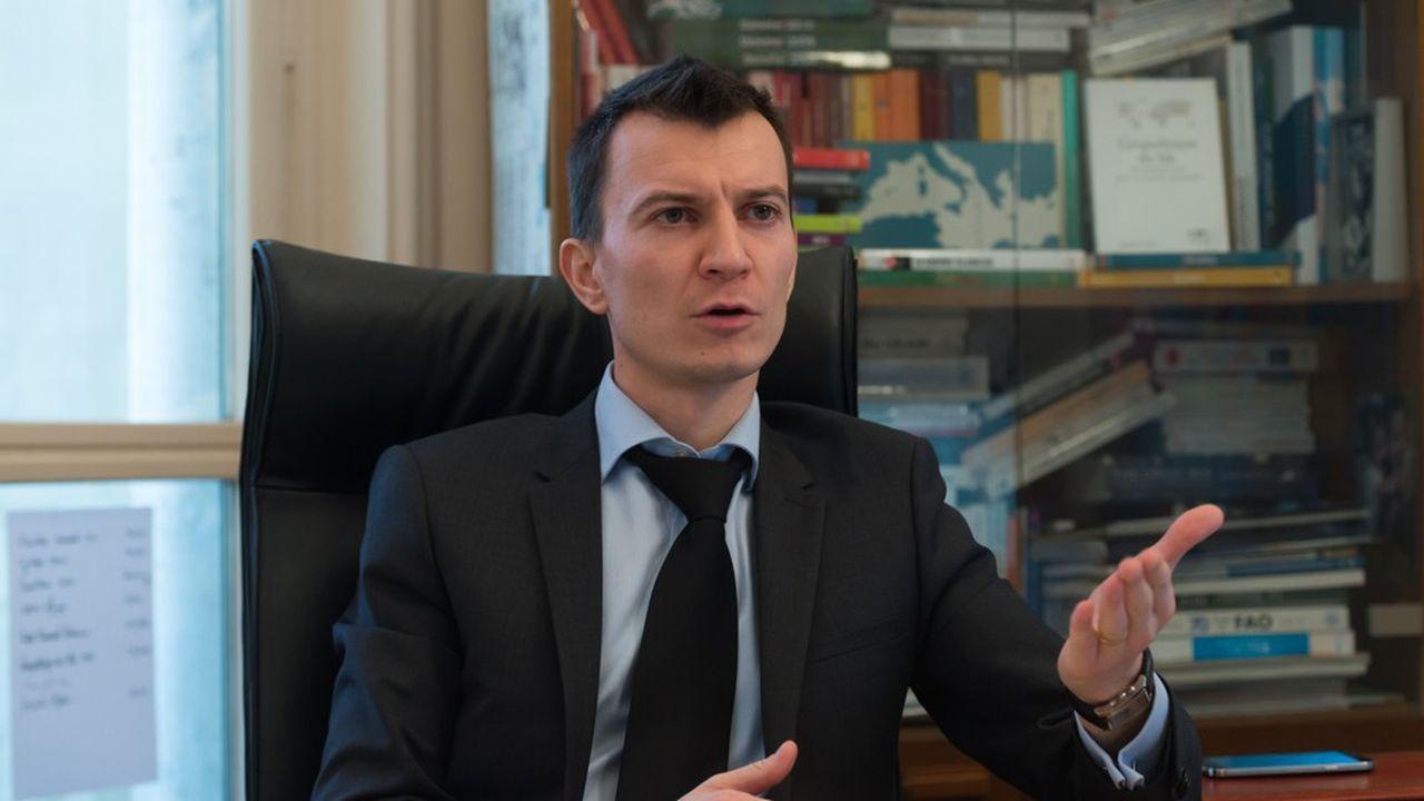Sébastien Abis chercheur à l'Iris et directeur du club Déméter.