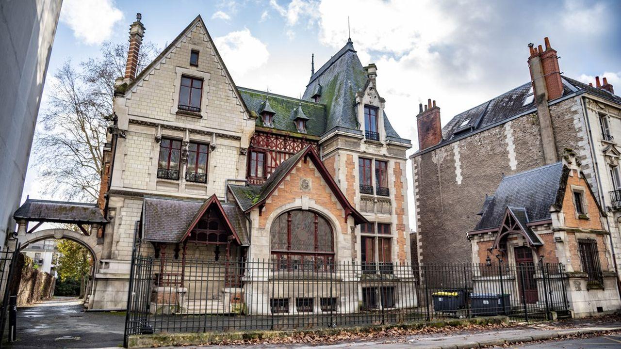 La Villa Rabelais, dans l'ancienne fac de droit de Tours, centralise les acteurs de la Cité de la Gastronomie.
