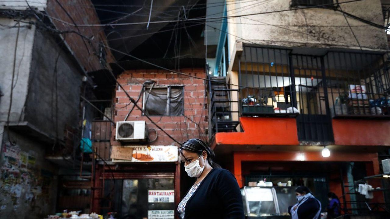 L'économie argentine a été frappée de plein fouet par la crise du Covid.