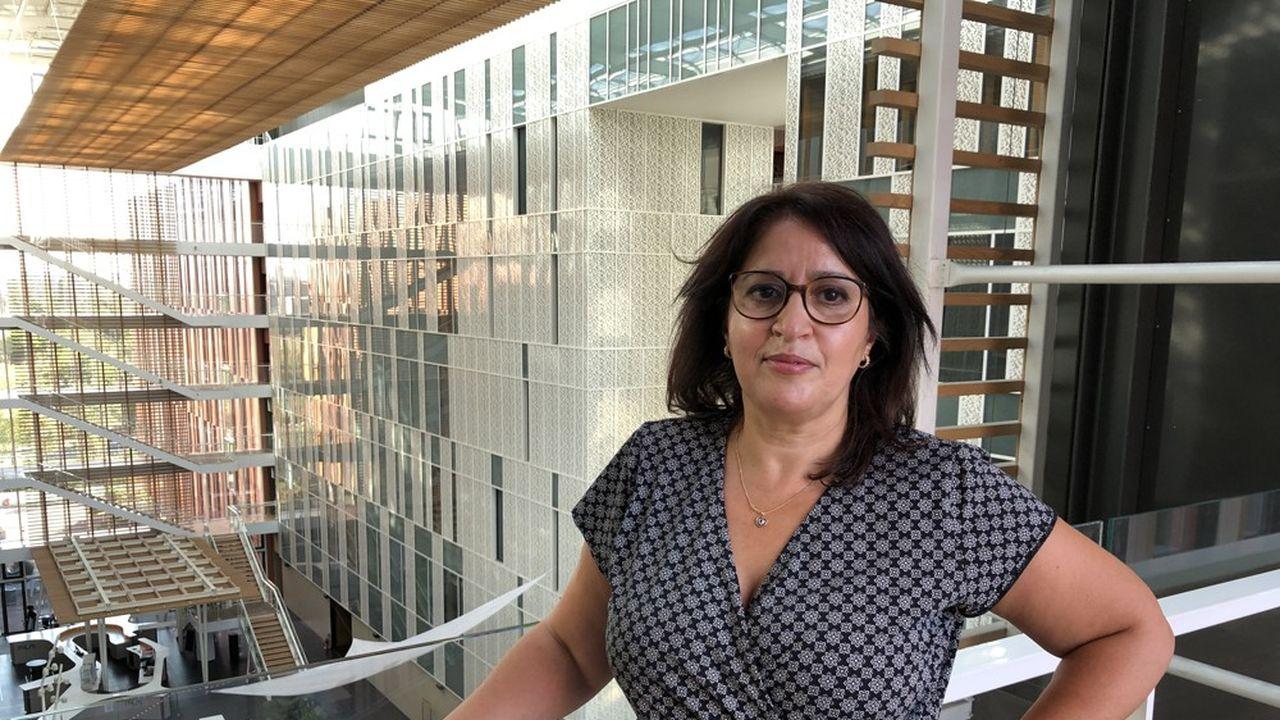 Cherifa Messaoudi, responsable diversité du groupe Up, en charge des dispositifs destinés aux salariés aidants.