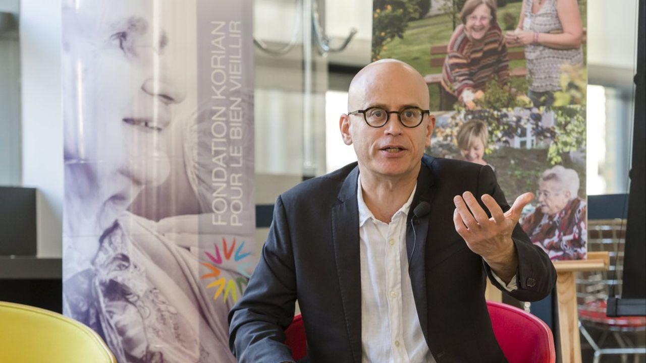 Serge Guérin, sociologue spécialiste des enjeux de la seniorisation de la société, et professeur à Inseec GE.