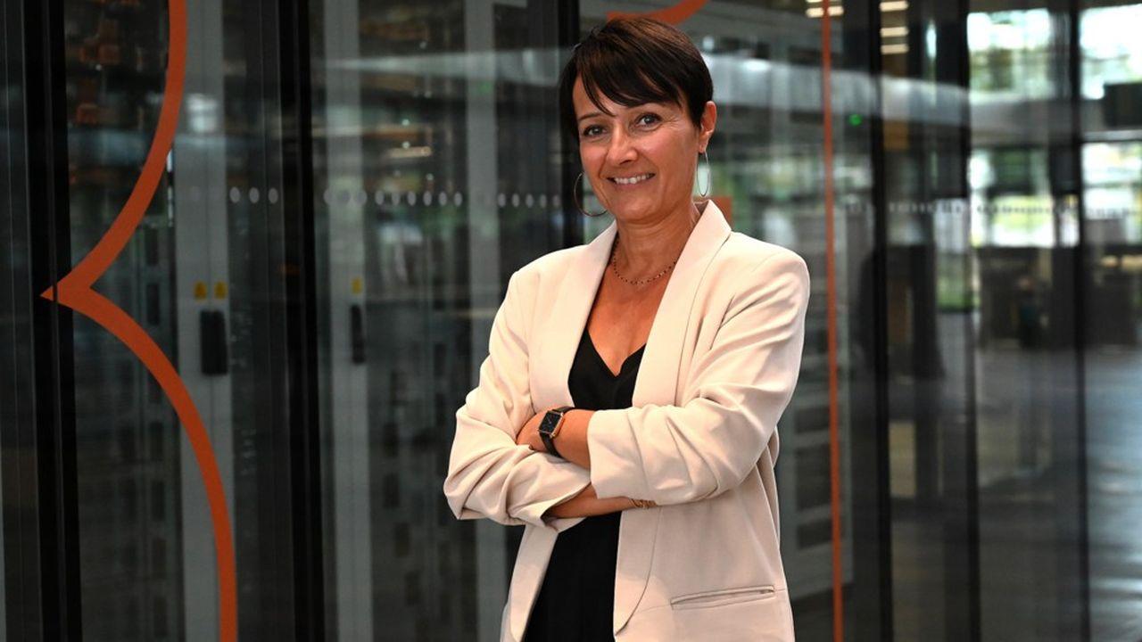 Catherine Distel, chargée des affaires sociales chez Hager Group.