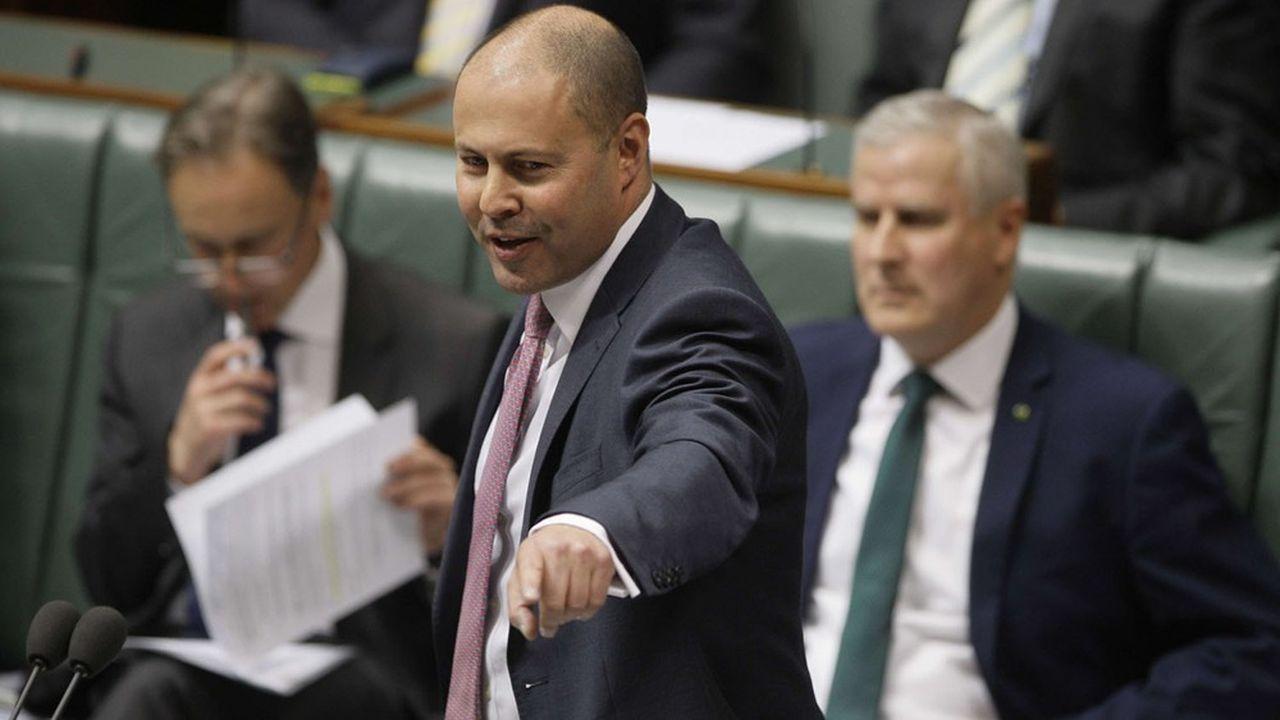 Le ministre australien du Budget Josh Frydenberg a annoncé mardi un budget prévoyant un déficit de 130milliards d'euros, un niveau inégalé depuis la seconde guerre mondiale.