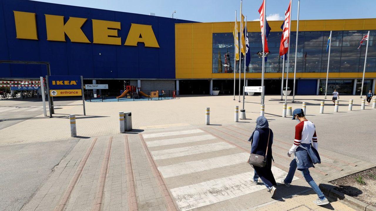 75% des magasins Ikea ont fermé pendant la crise du Covid.