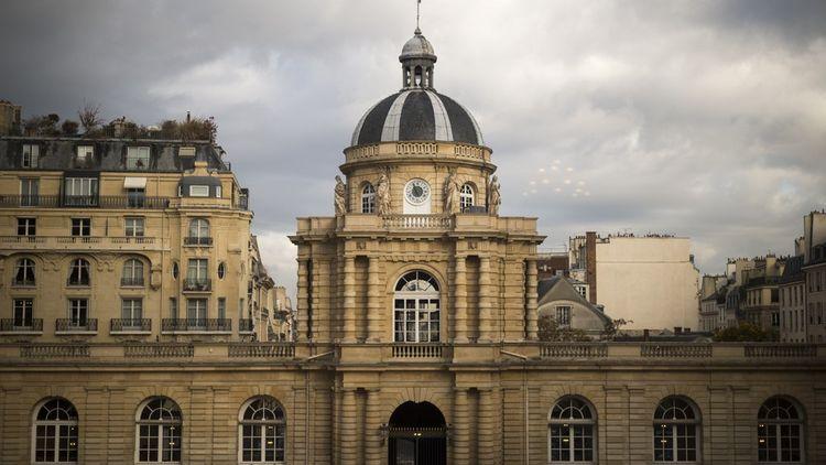 Le Palais du Luxembourg où siège le Sénat.
