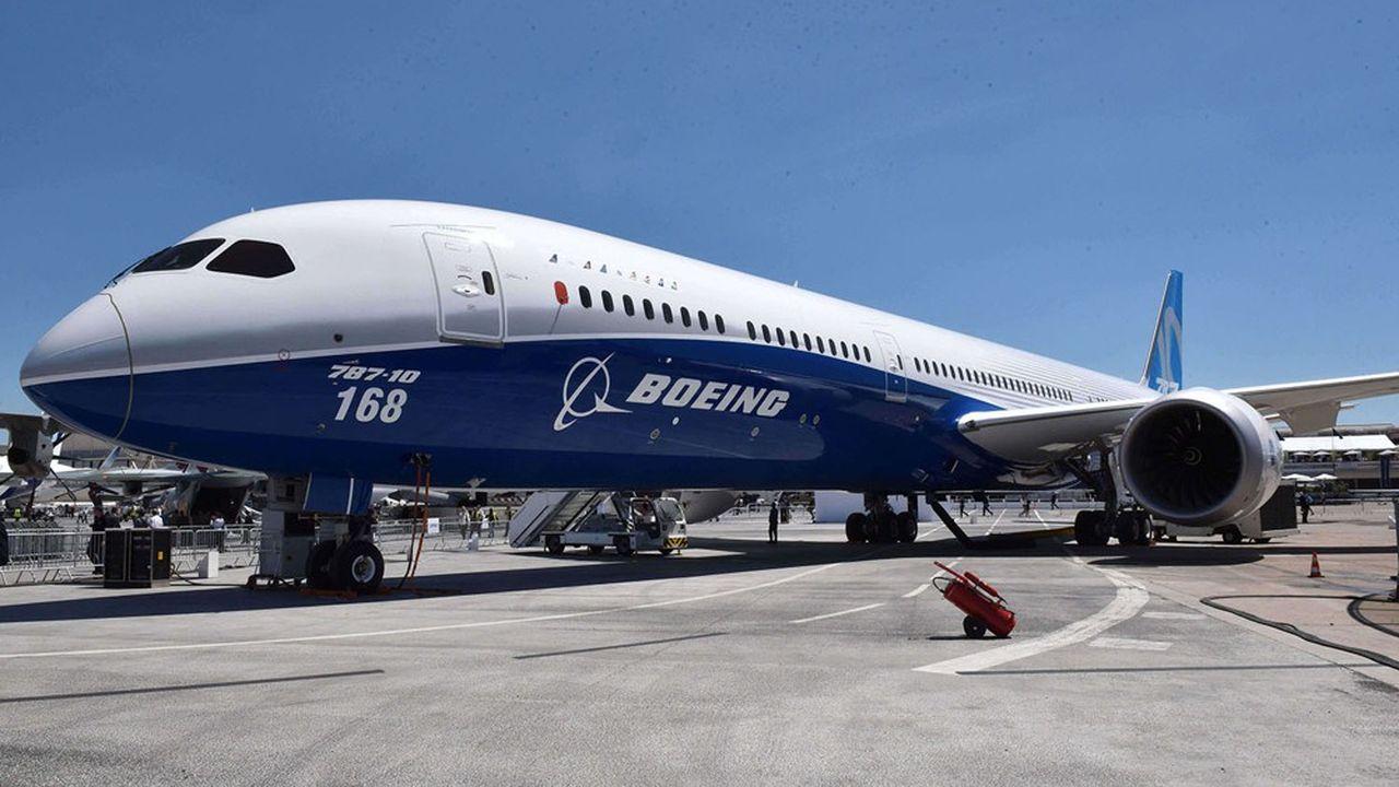 Boeing table sur une croissance moyenne du trafic de 4% par an d'ici à 2039.