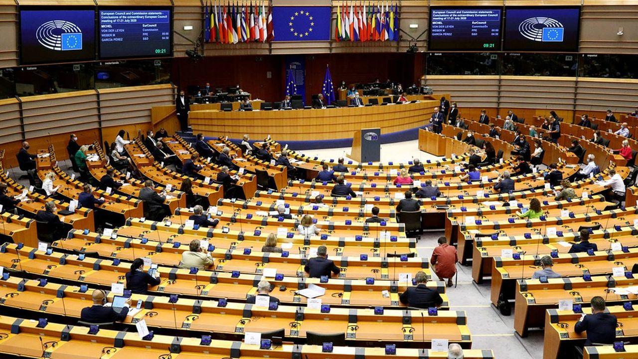 Le Parlement européen siège en session plénière du 5octobre 2020 au 8octobre 2020 à Bruxelles. La loi climat est à son agenda.